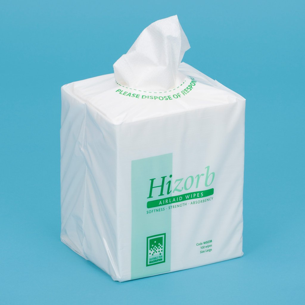 Hizorb Airlaid Wipes Product Image